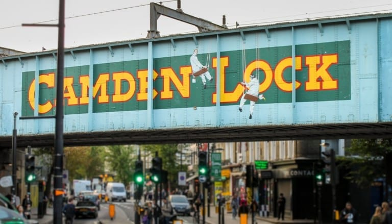 Camden Lock link for London Gyms Directory